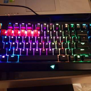 razer black widow chroma mechanical keyboard