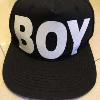Boy London logo cap