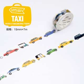 (Mix & Match)* Let's Go Series - World Taxi