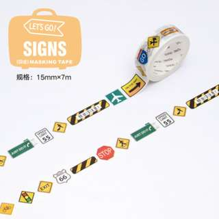Last 1 Instock! (Mix & Match)* Let's Go Series - Signs
