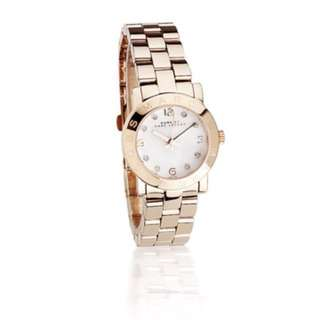 Marc by Marc Jacobs! Amy Mini Rose Gold Watch