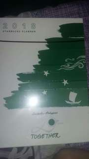 Starbucks 2018 Planner (SEALED)