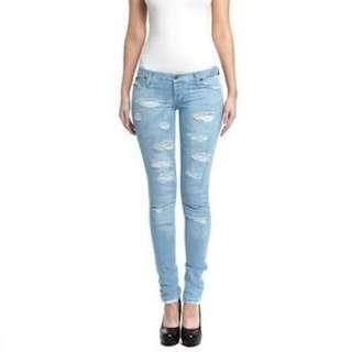Bardot: Ripped Denim Jeans