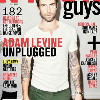 Nylon Guys Adam Levine of Maroon 5