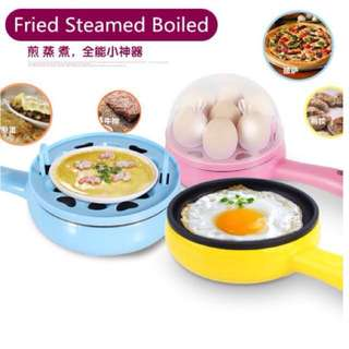 Home, Furniture & Diy Have An Inquiring Mind 4 Eggs Egg Boiler Cooker Poacher Steamer Electric Boiled 7 Eggs Omelette Maker