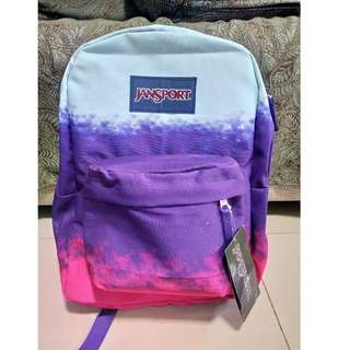 ombre limited edition authentic jansport backpack
