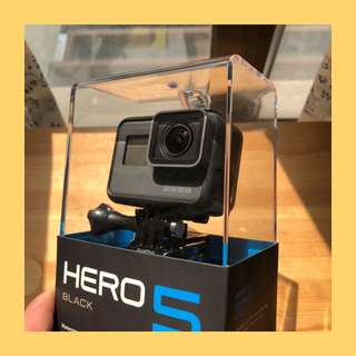 【全新未開】GoPro hero5 hero 5 運動相機