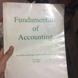 Fundamentals of accounting first edition June 2008