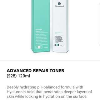 NOVU Elemental Advanced Repair Toner