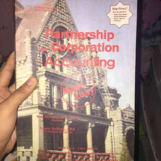 Partnership and corporation accounting 14th edition