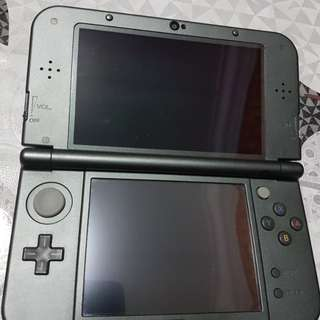 """new"" Nintendo 3DS XL with other stuff"