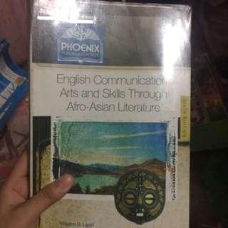 English communication: arts and skills through afro-Asian literature by Phoenix publishing sixth ed.