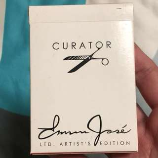 Curator playing cards deck
