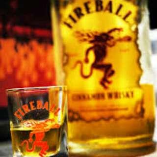 Fireball 威士忌盎司杯 (10入) #一百元好物
