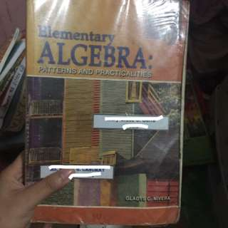 Elementary Algebra: patterns and practicalities by Gladys Rivera