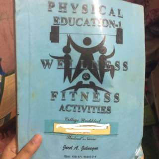 Physical education wellness and fitness activities