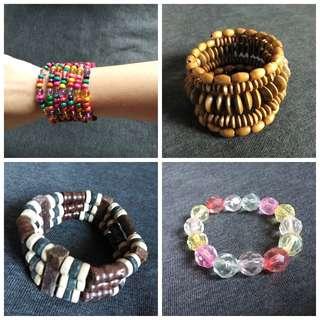 9 pieces of fashionable bracelets
