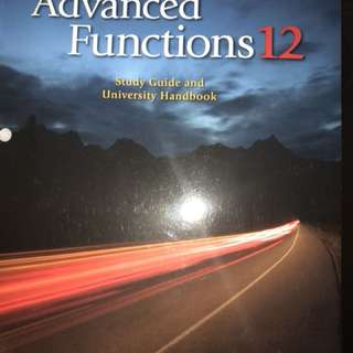 Advanced functions grade 12