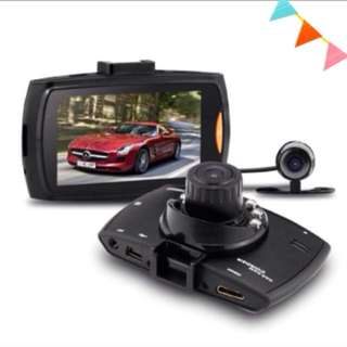 "🚘 DUAL Dash camera Car HD Crash Cam G-sensor Night Vision 170Degrees 1080P 2.7"" LCD DVR  Front & Back Camera Rear Camera"