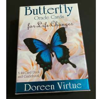 Doreen Virtue Butterfly Oracle Cards