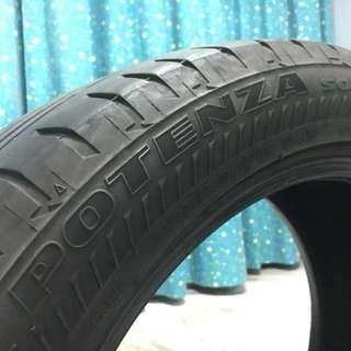 225/50 R17 Bridgestone Potenza S001 run flat