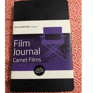 Moleskine Film Journal