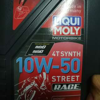 Liqui Moly 10w5/10w40/15w50