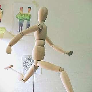 IKEA 素描人偶