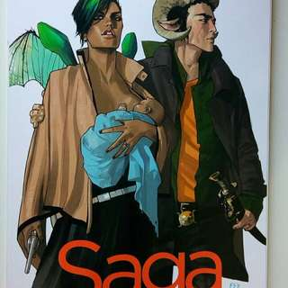 Saga vol.1 TPB (Brand New, mint condition