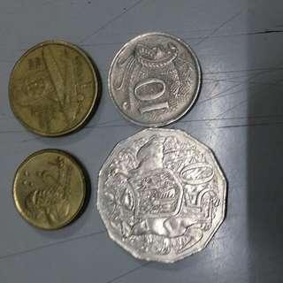 大量澳洲硬幣(可散買)
