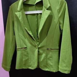 blazer semi formal hijau