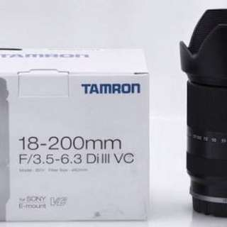 Sony E-Mount Lens 18-200mm Tamron
