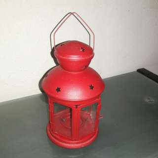 Sale - Brand New - IKEA RED - Latern Candle Holder.