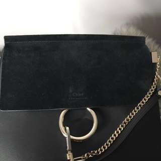 Chloe Faye Medium Black Bag