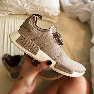 "Size 8 Adidas R1 NMD ""Sand"""