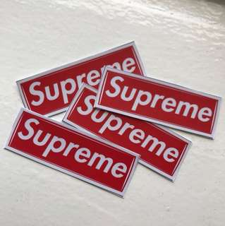 ➰4 SUPREME STICKERS