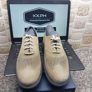Cole Haan Mens 2 ZeroGrand Laser Wing Barley/Magnet Colorway US size 9