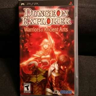 PSP Dungeon Explorer