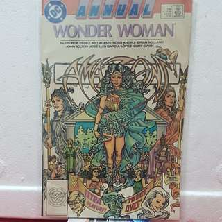 1988 #1 DC Comics ANNUAL WONDER WOMAN