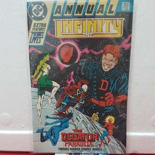 1988 #1 ANNUAL INFINITY THE DEGATION PARADOX
