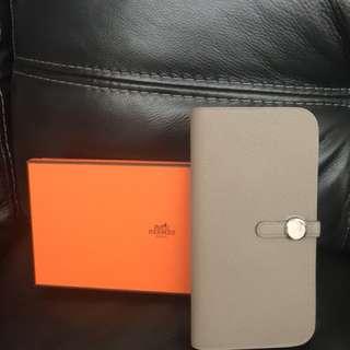 Hermes Dogon Long wallet Togo M8