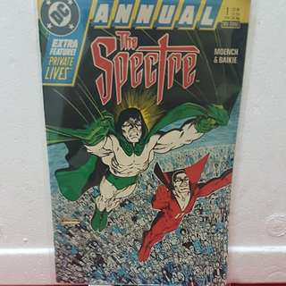 1988 #1 ANNUAL THE SPECTRE