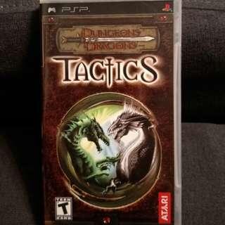 PSP UMD Dungeons & Dragon Tactics