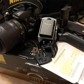 Nikon D3100 VR kit 18-55mm 18-55 f/ 3.5 - 5.6