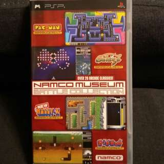PSP Namco UMD Museum Battle Collection (21 Games)