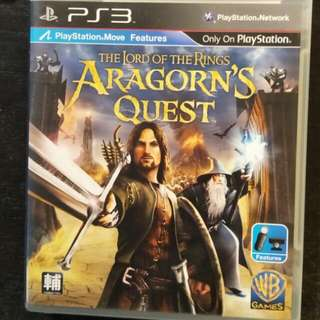 PS3 The Lord Of The Rings - Aragorn's Quest