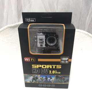 Sports Camera (waterproof & 1080P Full HD)