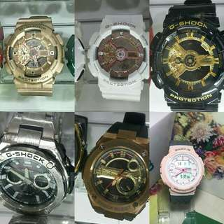 ❤ New! OEM G-Shock and Baby-G watches for less! Made in Japan