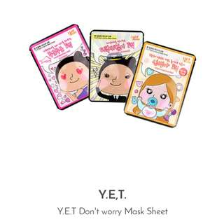 Y.E.T. Don't Worry Mask Sheet