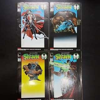4 #1 Comics SPAWN